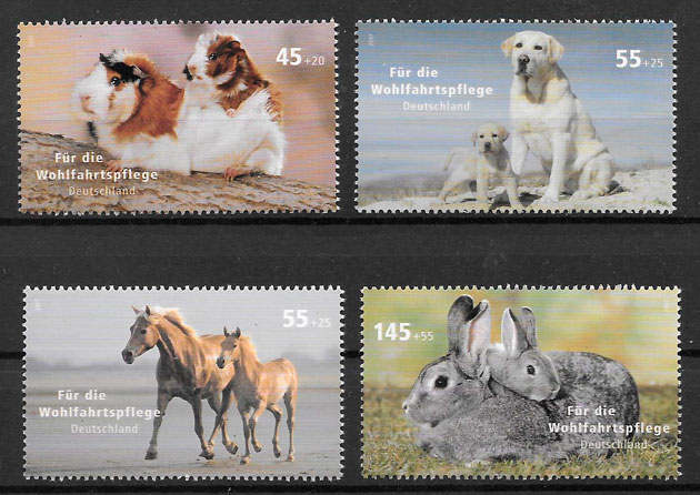 colección fauna Alemania 2007