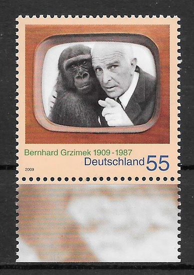 sellos fauna Alemania 2009
