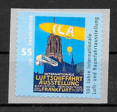 sellos transporte Alemania 2009