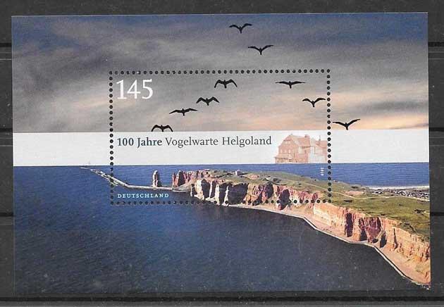 Filatelia sellos parque nacional del 2010