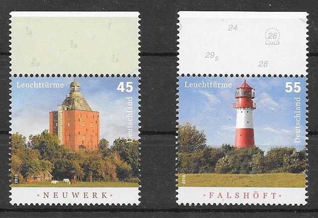 Colección Sellos Alemania-2010-01
