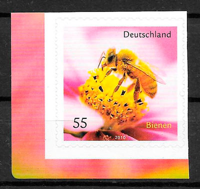 sellos fauna Alemania 2010