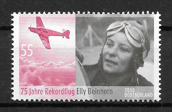colección sellos transporte Alemania 2010