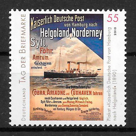sellos transporte Alemania 2010
