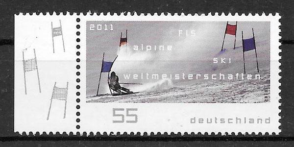 filatelia colección deporte Alemania 2010
