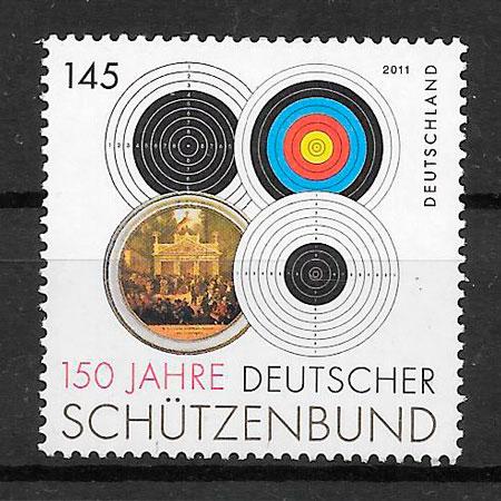 sellos deporte Alemania 2011