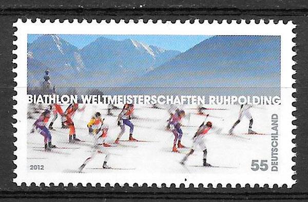 sellos deporte Alemania 2012