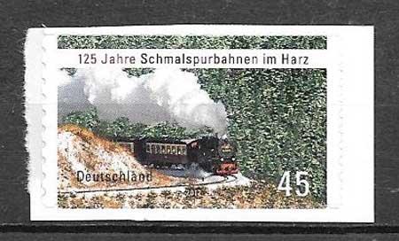 sellos trenes Alemania 2012