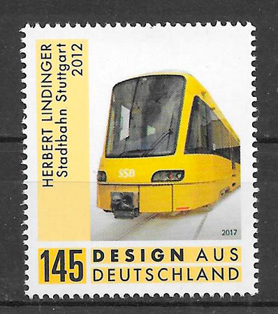sellos trenes Alemania 2017