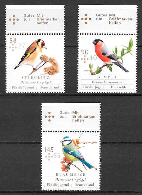 sellos fauna Alemania 2013