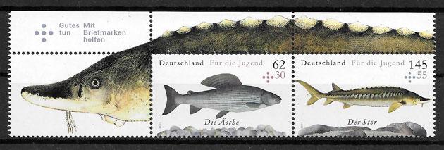 sellos fauna Alemania 2015
