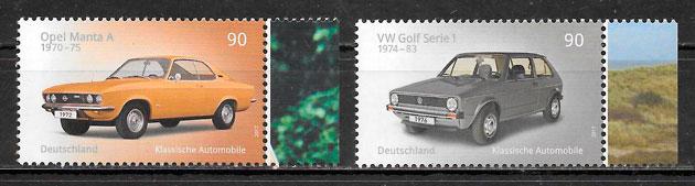 colección sellos transporte Alemania 2017