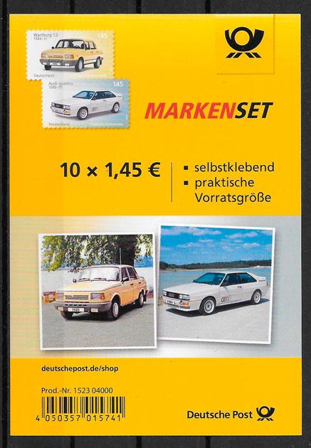 sellos transporte Alemania 2018