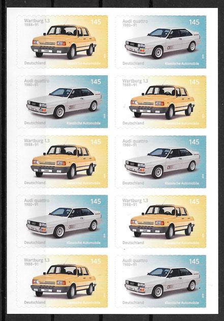 sellos transporte Alemania 2017