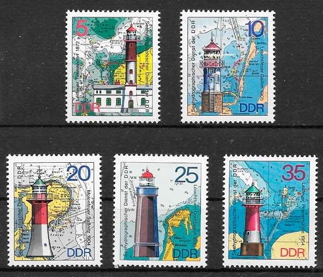 Europa Oriental 50 Diferentes Sellos Sellos
