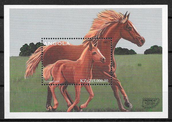 selos fauna Angola 1997