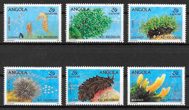 selos fauna Angola 1998