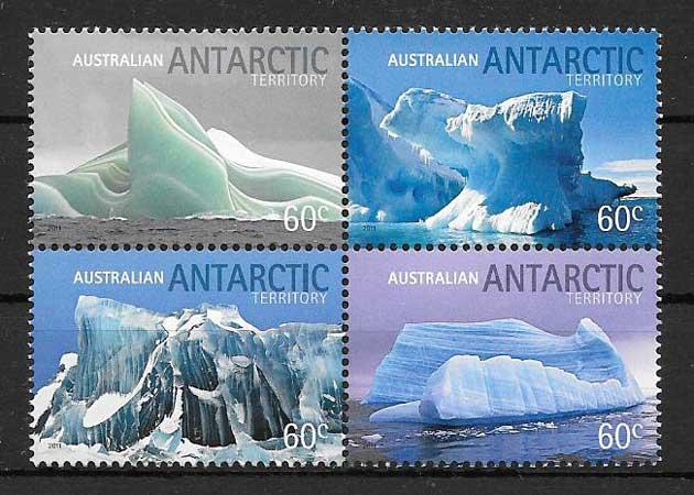 Sellos Iceberg de la Antártida