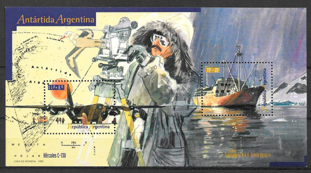 sellos transporte Argentina 1995