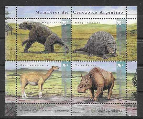 Filatelia sellos Argentina-2001-01