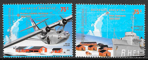 selos transporte Argentina 2002