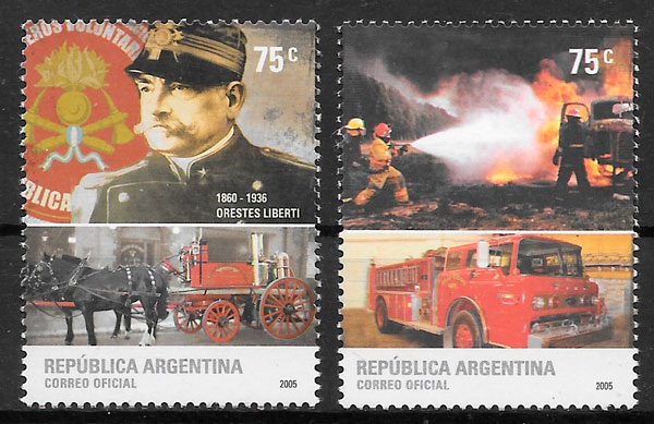 selos transporte Argentina 2005