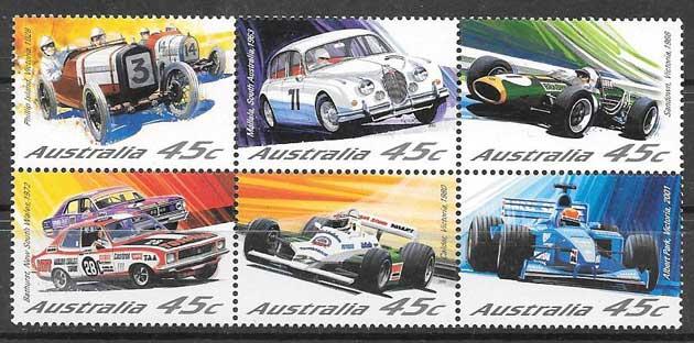 sellos deporte Australia 2002