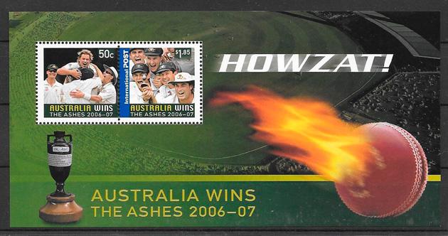 sellos deporte Australia 2007