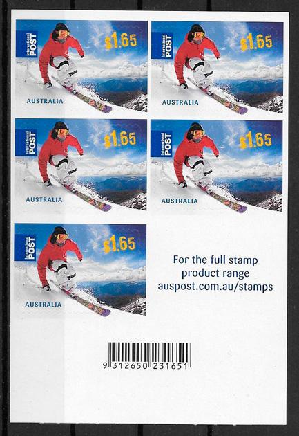 colección sellos Australia deporte 2011