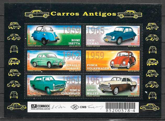 sellos transporte Brasil 2001