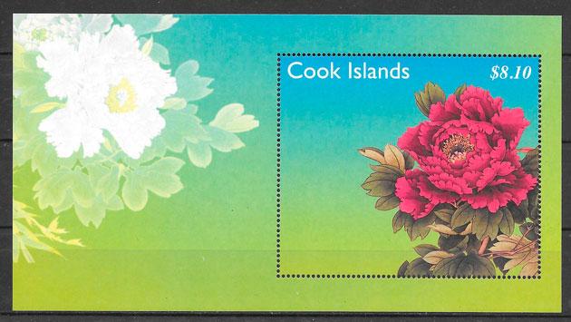 sellos flora Cooks Island 2011