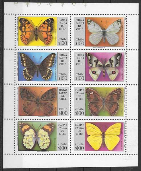 sellos fauna Chile 1994