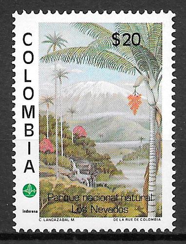 sellos parques naturales de Colombia 1981