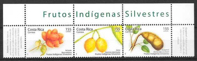 sellos flora Costa Rica 2006