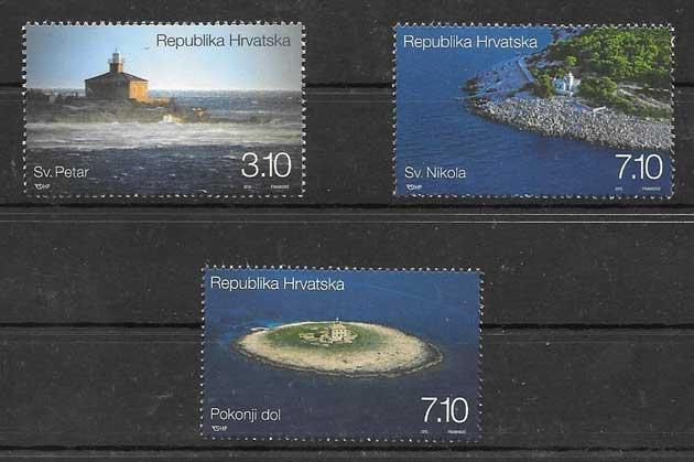 Filatelia Sellos Croacia-2012-01