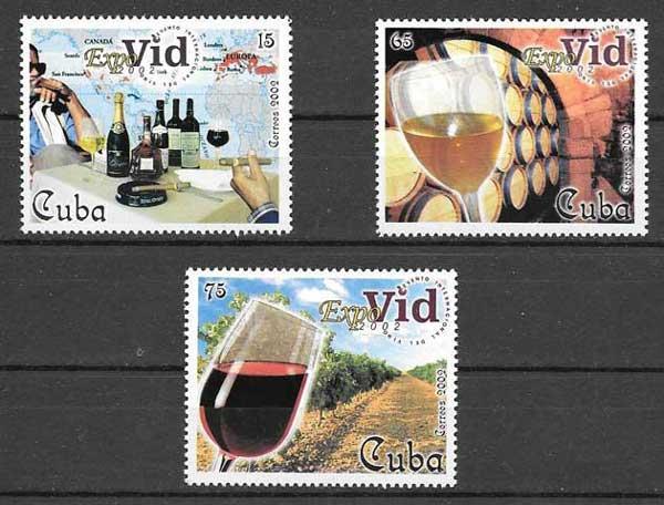 Colección Sellos Cuba-2002-03