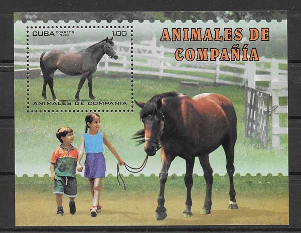 Filatelia sellos Cuba-2004-08