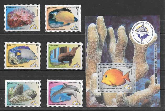 Filatelia sellos Cuba-2010-06