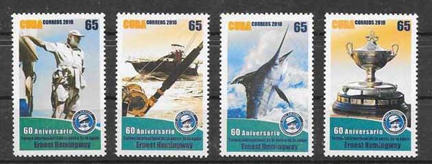 Colección sellos Cuba-2010-13