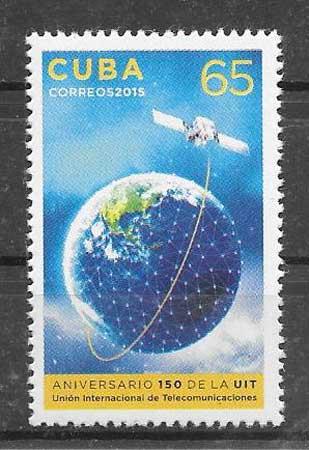 colección sellos transporte Cuba 2015