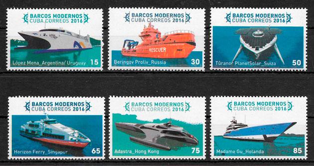 sellos transporte Cuba 2016