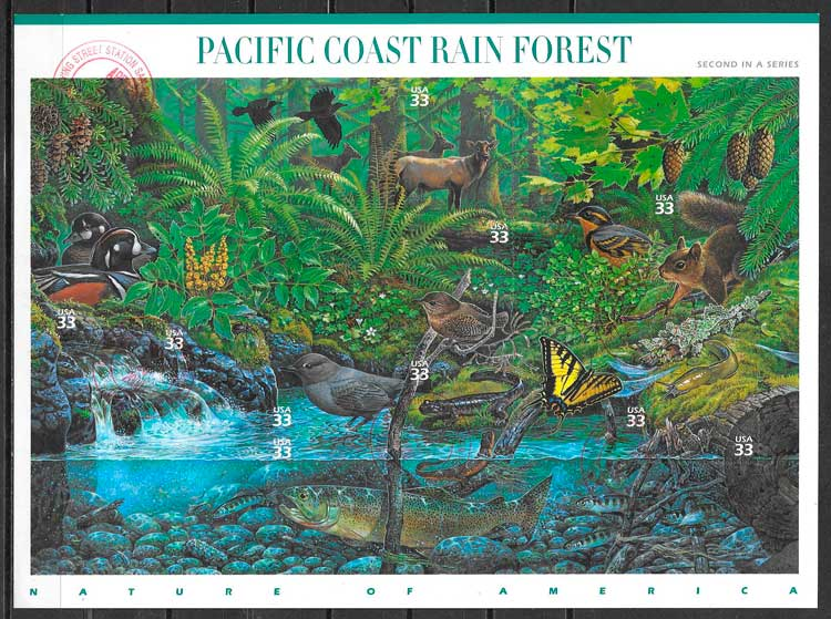 selos parques naturales USA 2000