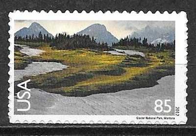 sellos parques naturales USA 2012