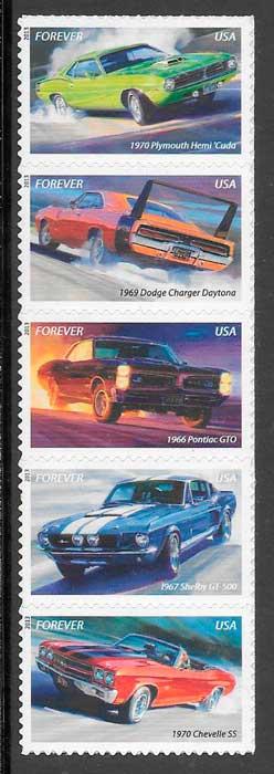 filatelia transporte EE.UU 2013