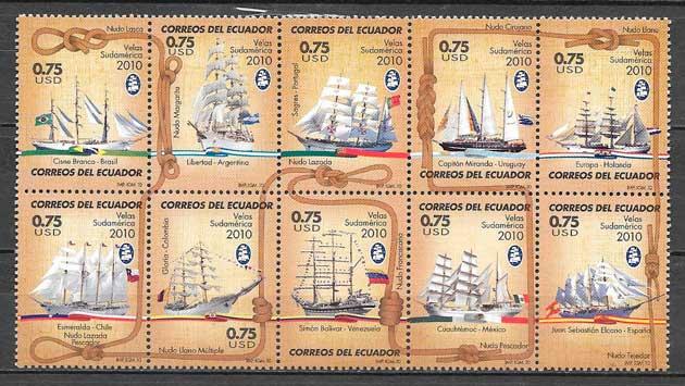 sellos transporte Ecuador 2010