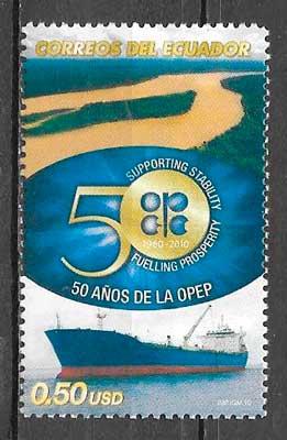 sello transporte Ecuador 2010