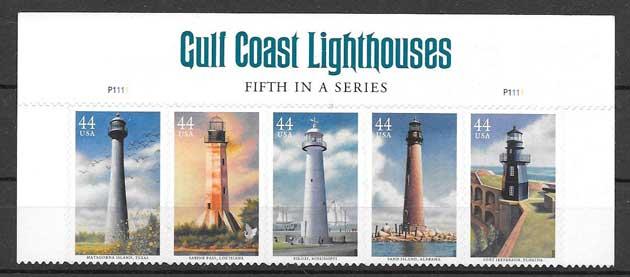 Colección sellos Estados-Unidos-2009-01
