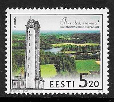 filatelia faros Estonia 1999