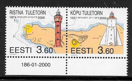filatelia faros 2000 Estonia