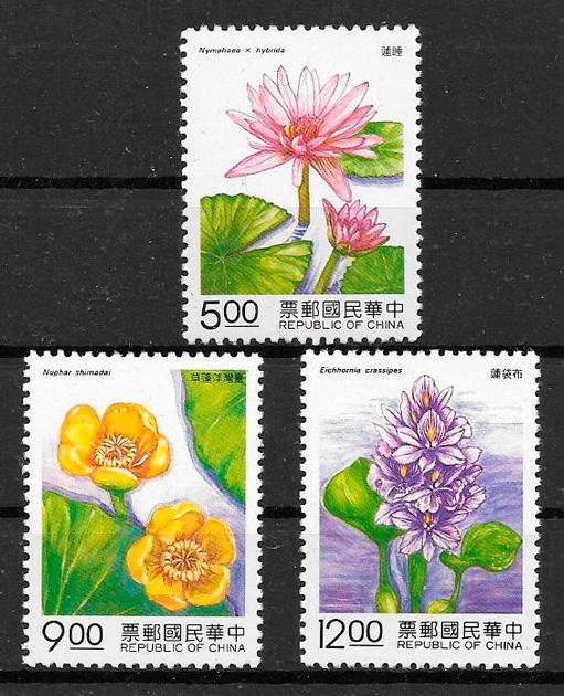 filatelia flora Formosa 1993
